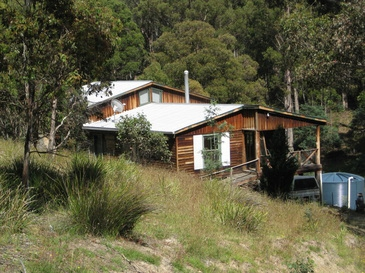 studio at the central highlands of Tasmania