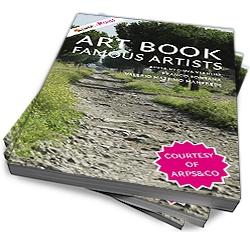 stapel kunstboeken
